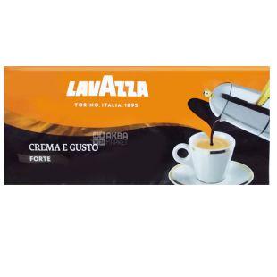 Lavazza Crema e gusto Forte, Ground coffee, 1 kg (4 pcs. X 250 g)