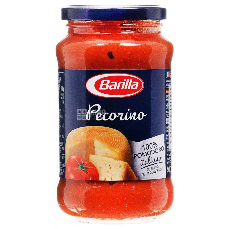 Barilla Pecorino, 400 г, Соус томатный с сыром Пекорино