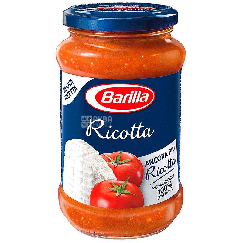 Barilla Ricotta, 400 г, Соус томатный с сыром Рикотта