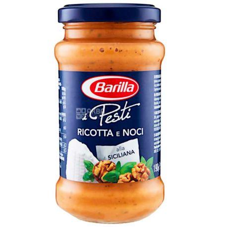 Barilla Pesti Ricotta e Noci, 190 g, Pesto Sauce