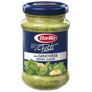 Barilla Pesti alla Genovese senza aglio, 190 г, Соус Песто