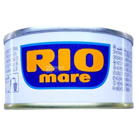 Rio Mare, 80 г, Тунец, Филе в собственном соку, Tonno al Naturale