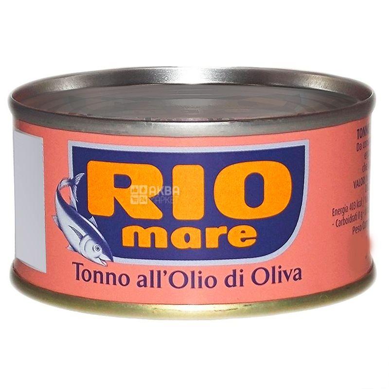 Rio Mare, 160 г, тунець, В оливковій олії, all Olio di Oliva