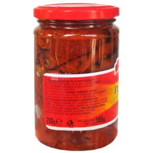 Delizie dаl Sole, 280 г, Томати сушені в олії, Pomodori secchi