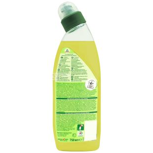 Frosch, 750 мл, Засіб для чищення унітазу, Лимон