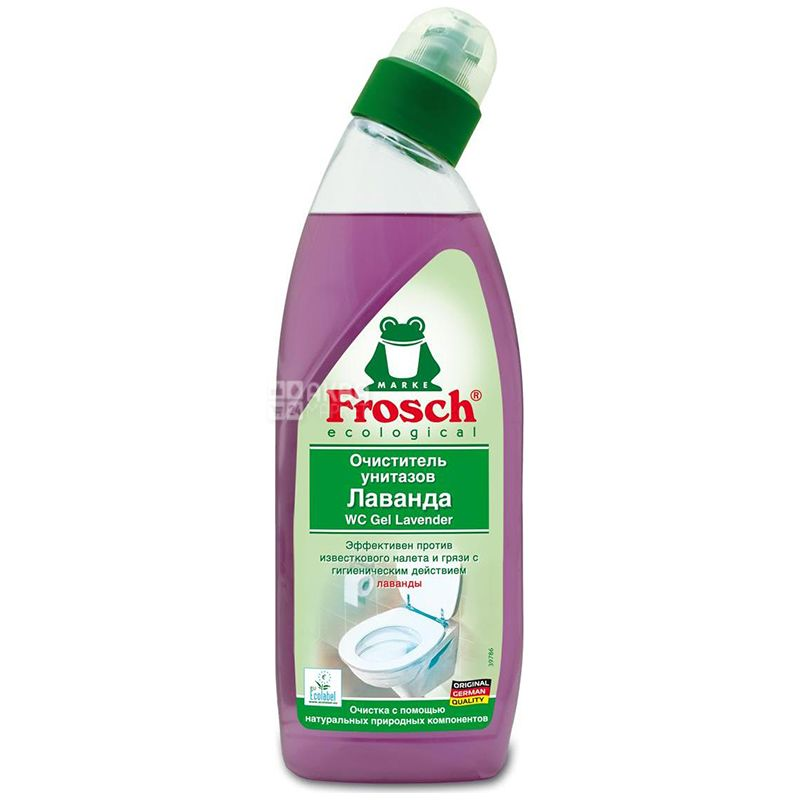 Frosch, 750 мл, Средство для чистки унитаза, Лаванда