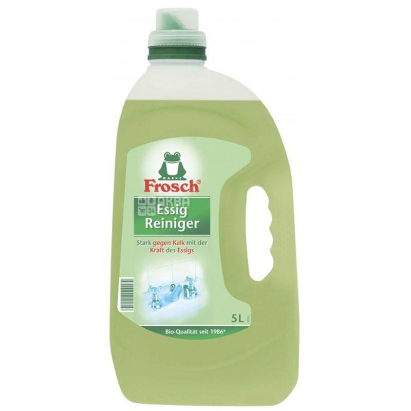 Frosch, Очищающее средство, Из яблочного уксуса, 5 л