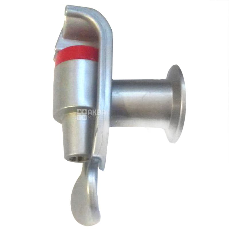 Кран горячей воды к кулерам Ecotronic H1-L, silver, в/р