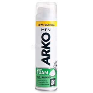 Arko MEN, 200 мл., Пена для бритья, Защита от раздражений