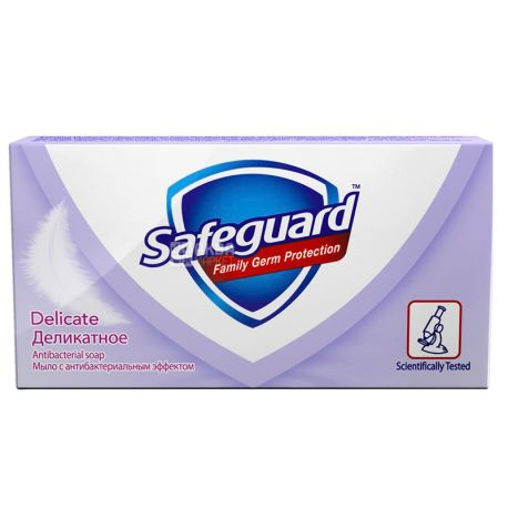 Safeguard, 90 г, Мыло, Delicate