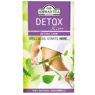 Ahmad, 20 pcs., Herbal tea, Detox Slim
