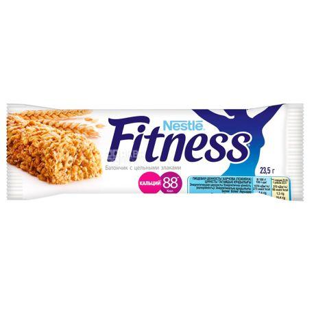 Nestlе, 23,5 г, Батончик-мюслі, Fitness, З цільними злаками