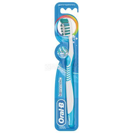 Oral-B, 1 шт., Середня, Зубна щітка, Комплекс, Глибоке чищення