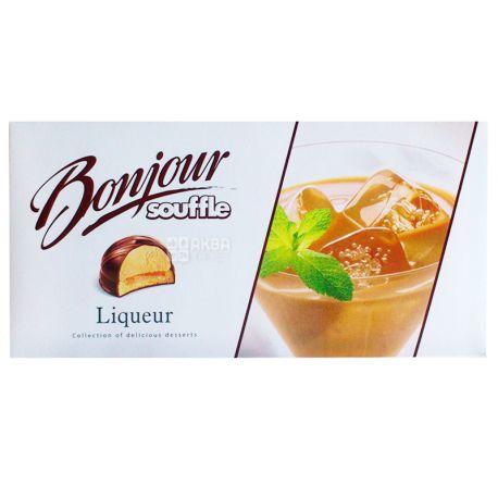 купить Bonjour 232 г десерт Liqueur в аквамаркет цена