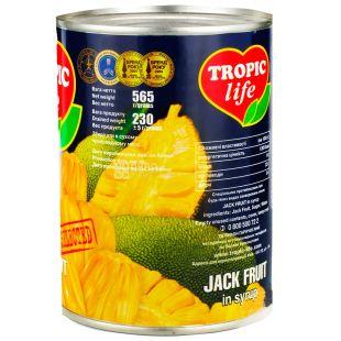 Tropic Life, 565 г, Джекфрут, В сиропе