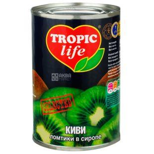 Tropic Life, 425 г, Ківі, Скибочки в сиропі