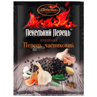 Lyubistok, 30 g, Pepper garlic, Hell pepper, Ground