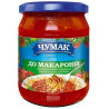 Chumak, 500 g, Sauce, To macaroni, glass