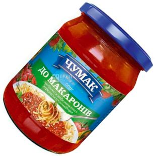 Chumak, 500 g, Sauce, To macaroni, glass
