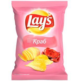 Lay's, 133 г, Чипсы картофельные, Краб