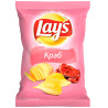 Lay's, 133 g, Potato chips, Crab
