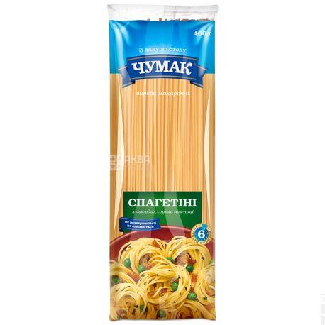 Чумак, 400 г, Макарони з твердих сортів пшениці, Спагеттіні