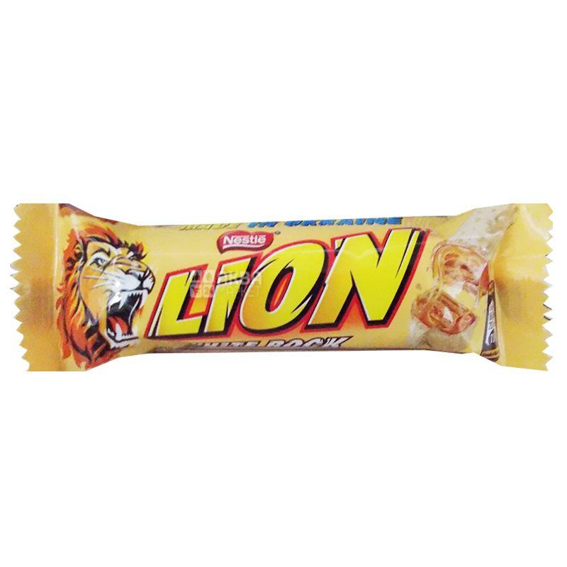 Lion, 42 г, Шоколадный батончик, White Rock