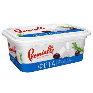 Premialle, 250 г, 45 %, сыр фета