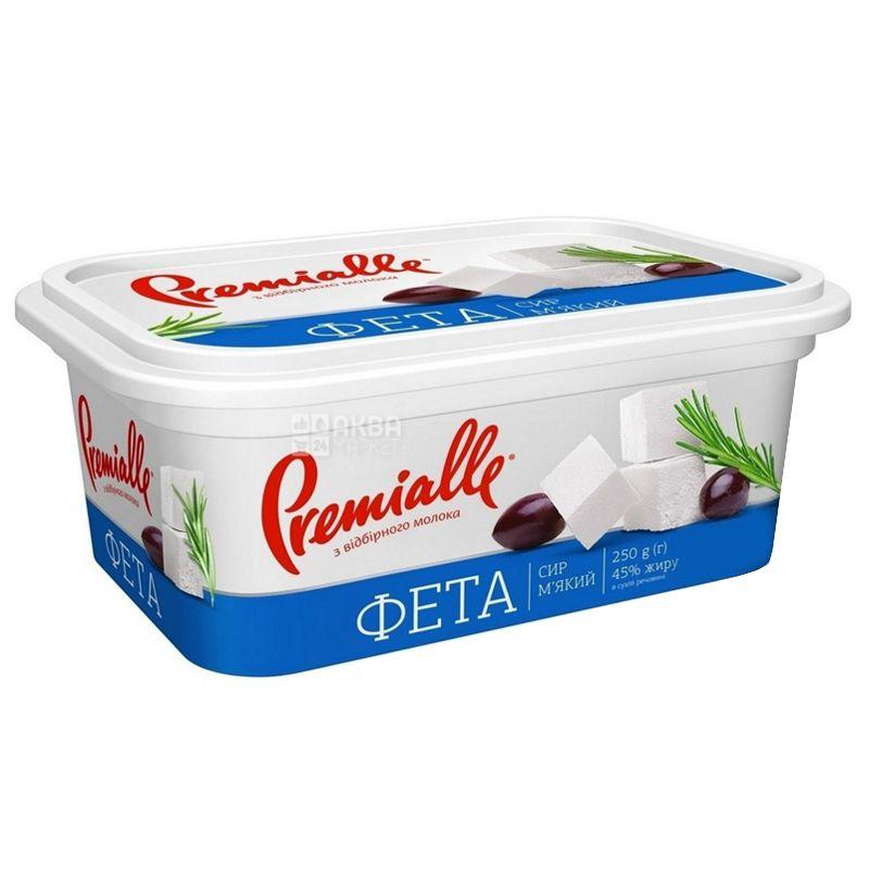 Premialle, 250 г, 45 %, сир фета