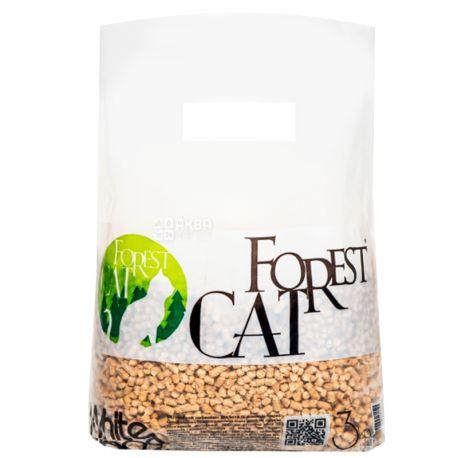 Forest Cat, 3 кг, Наповнювач гігієнічний, Деревне