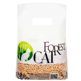 Forest Cat, 3 кг, Наполнитель гигиенический, Древесный