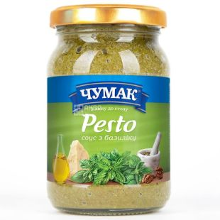Chumak, 160 g, Pesto sauce, glass