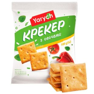 Yarich, 180 g, cracker, With vegetables