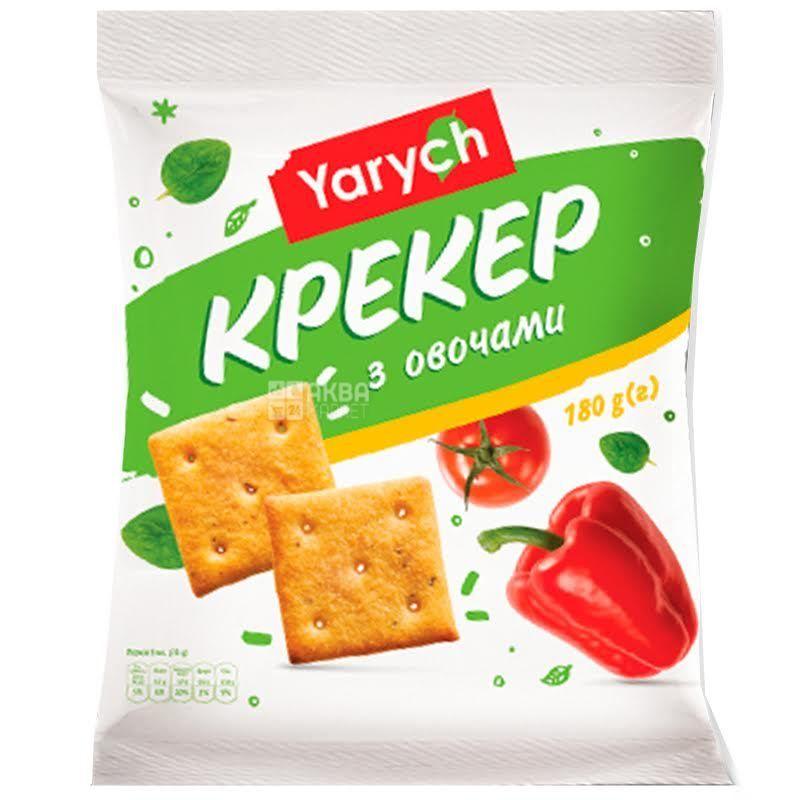 Yarich, 180 г, крекер, З овочами