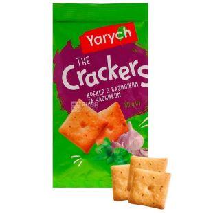 Yarich, 80 g, cracker, with basil and garlic