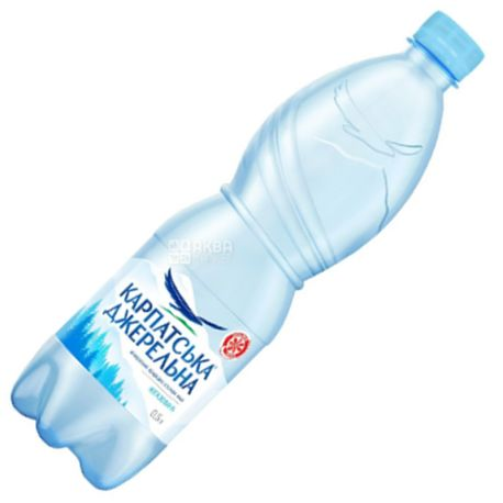 Карпатська Джерельна, 0,5 л, Вода минеральная негазированная, ПЭТ