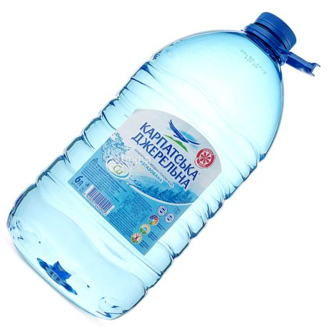 Karpatskaya Dzherelna 6 l, Non-carbonated water, PET, PAT