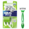 Gillette, 3 pcs., Disposable, Blue 3 sensecare