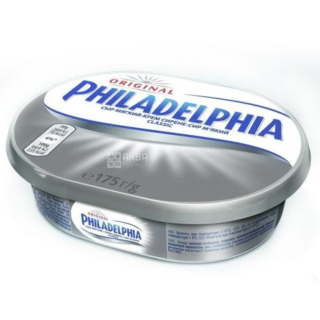 Philadelphia Original, 175 г, 3%, Сыр мягкий