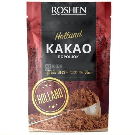Roshen, 100 г,  22%, Какао-порошок,  Holland