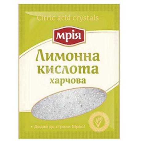 Мрия, 25 г, Лимонная кислота