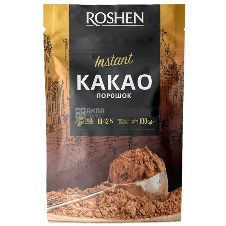 Roshen, 100 г, 11%, Какао-порошок, Instan