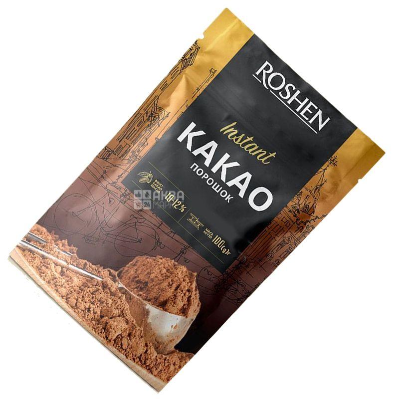 Roshen, Instant, Какао-порошок, 10-12%, 100 г