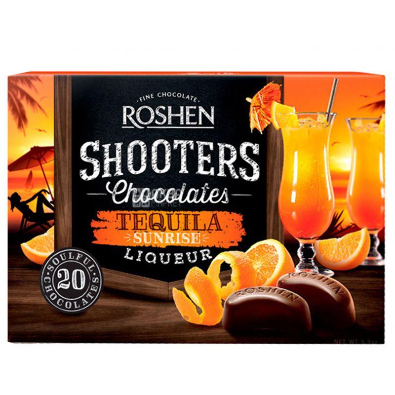 Roshen Shooters, 150 г, Конфеты, Tequila Sunrise