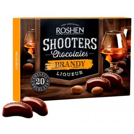 Roshen Shooters, 150 г, Конфеты, С бренди-ликером