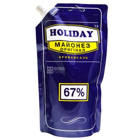Holiday, 360 г, Майонез Оригинальный 67%, дой-пак