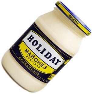 Holiday, 415 г, Майонез Оригінальний 67%, скло