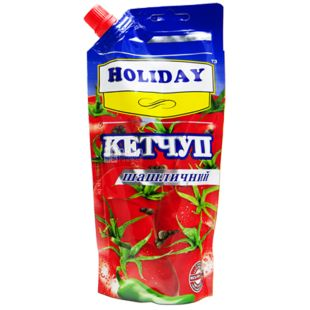 Holiday, 300 г, Кетчуп, Шашлычный, дой-пак