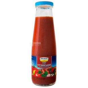 Holiday, 520 g, Georgian Sauce, glass