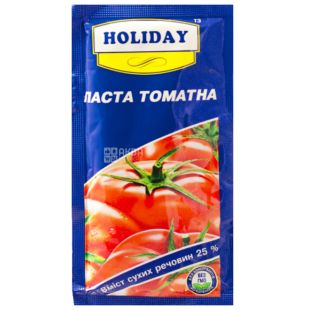 Holiday, 60 g, Tomato Paste 25%, come down